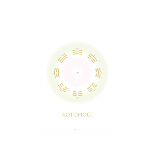 KOTOHOGI グラフィック アートカード